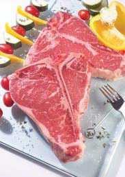 T-Bone steak d Black Angus